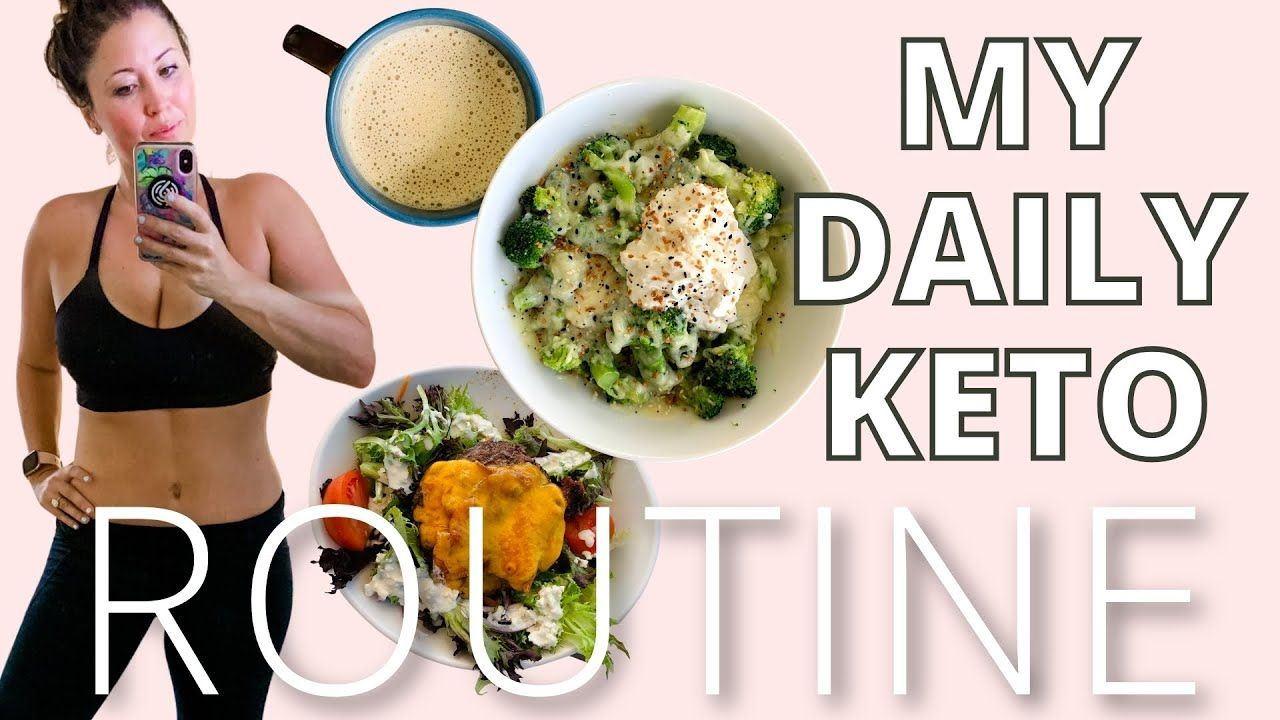 My daily keto routine | what I eat in a day (VLOG)