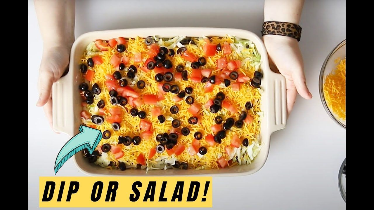The Best Keto 7 Layer Dip