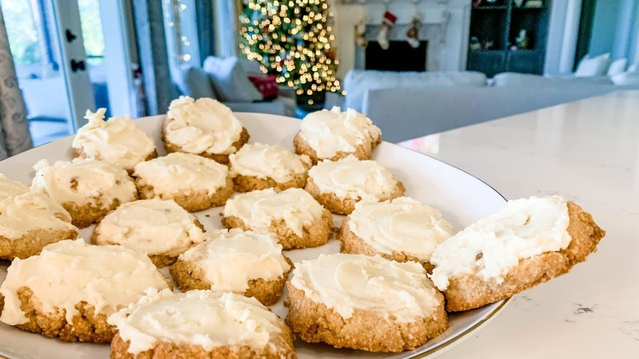The Best Keto Sugar Cookies w/ Buttercream Frosting! 🎄 Keto Christmas Cookie Recipe!