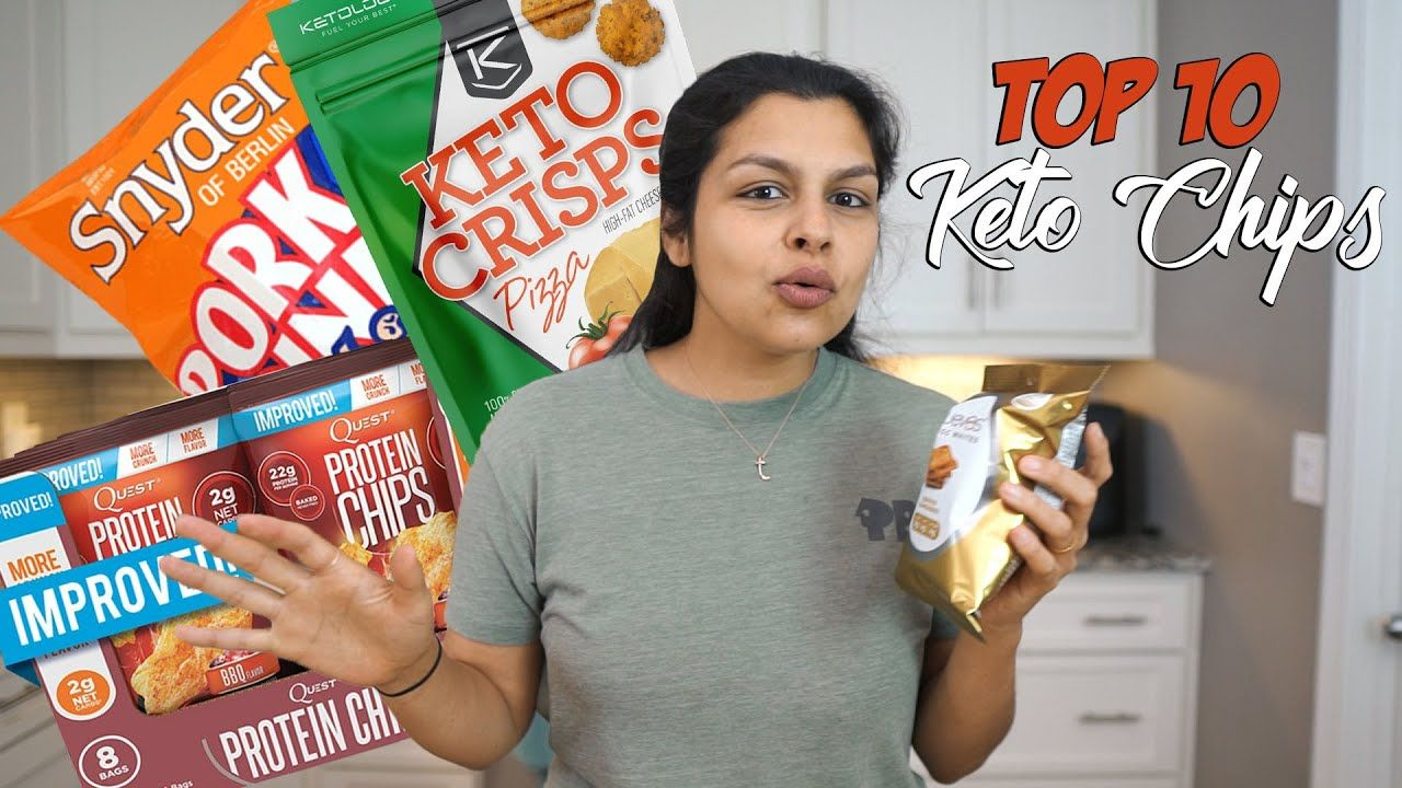 Top 10 Keto Chip Options | Homemade and Store Bought