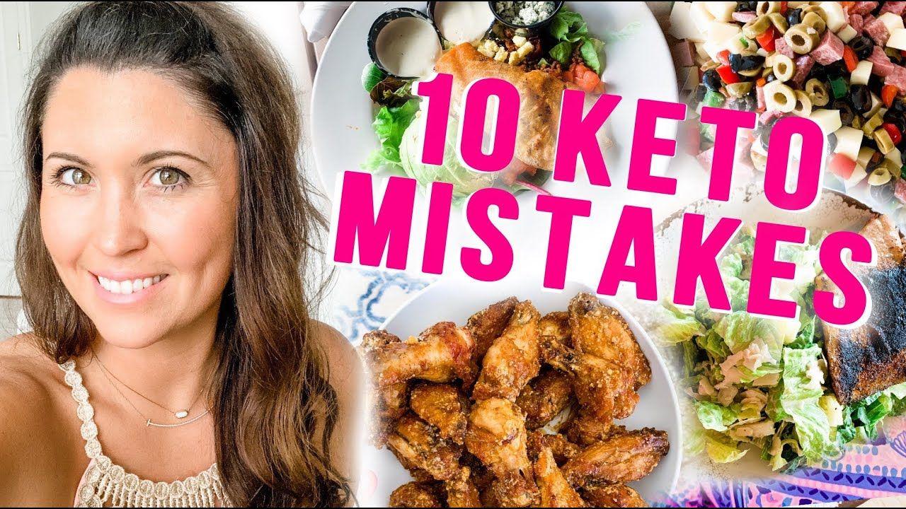 Top 10 Keto Mistakes (Beginners Make) & How to Avoid Them! | Ashley Salvatori