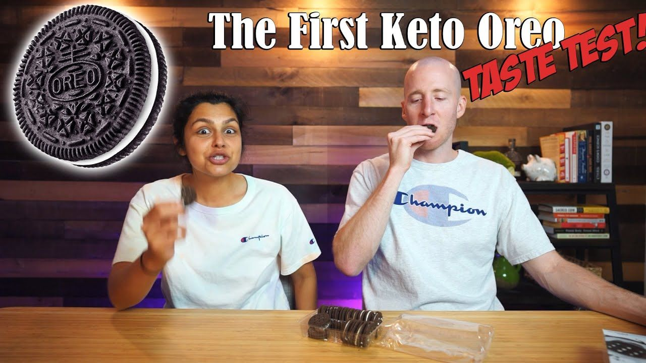 Trying Keto Oreos, Cheez-It's, Tortillas and Ice Cream | Keto Food Review Show!