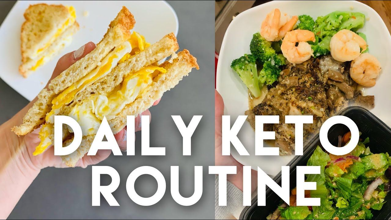 WHAT I EAT IN A DAY FOR FAT LOSS – MY DAILY KETO ROUTINE!