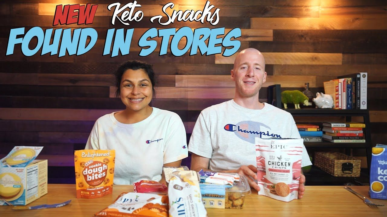 We Found New Keto Snacks IN STORES | Taste Test and Review