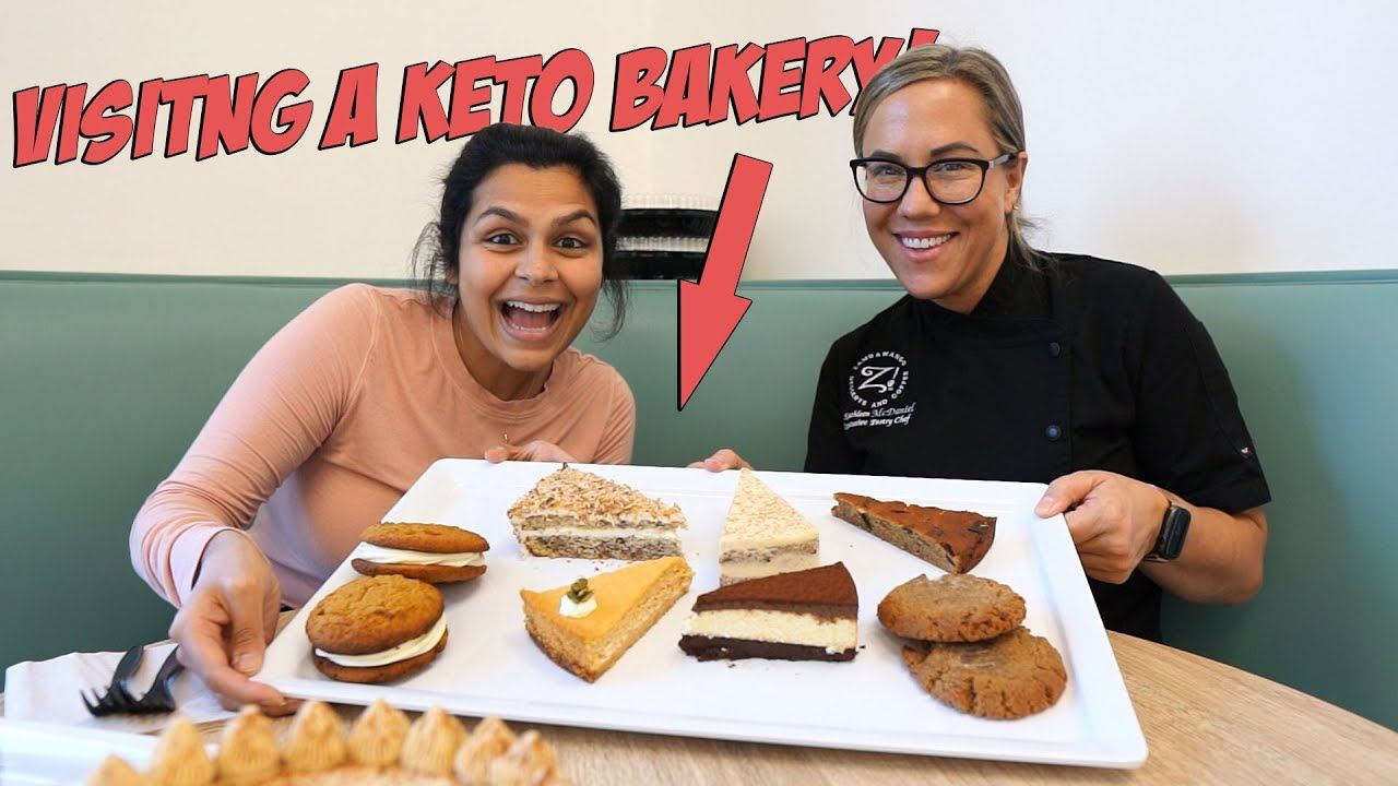 We Visited the Best Keto Bakery in The World? Full Day of Eating