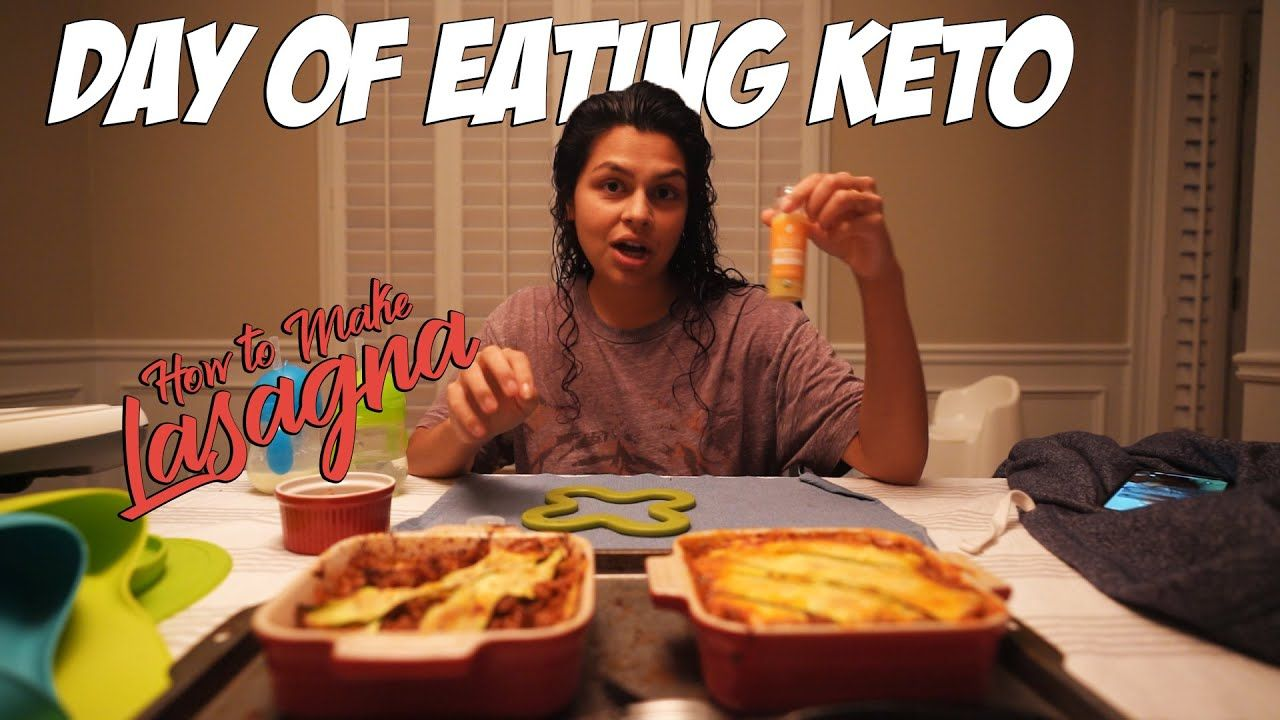 What We Eat on Keto | Zucchini Lasagna Recipe + Online Grocery Haul