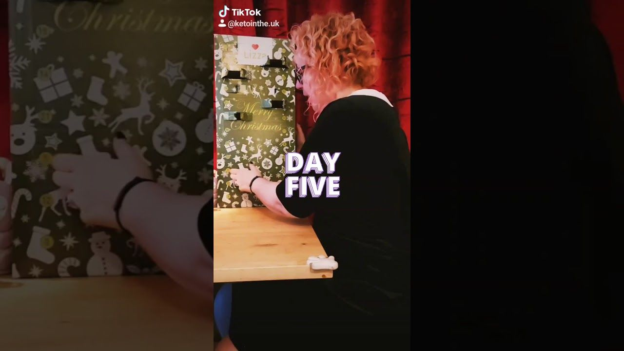 DAY FIVE low carb advent calendar by Lizza