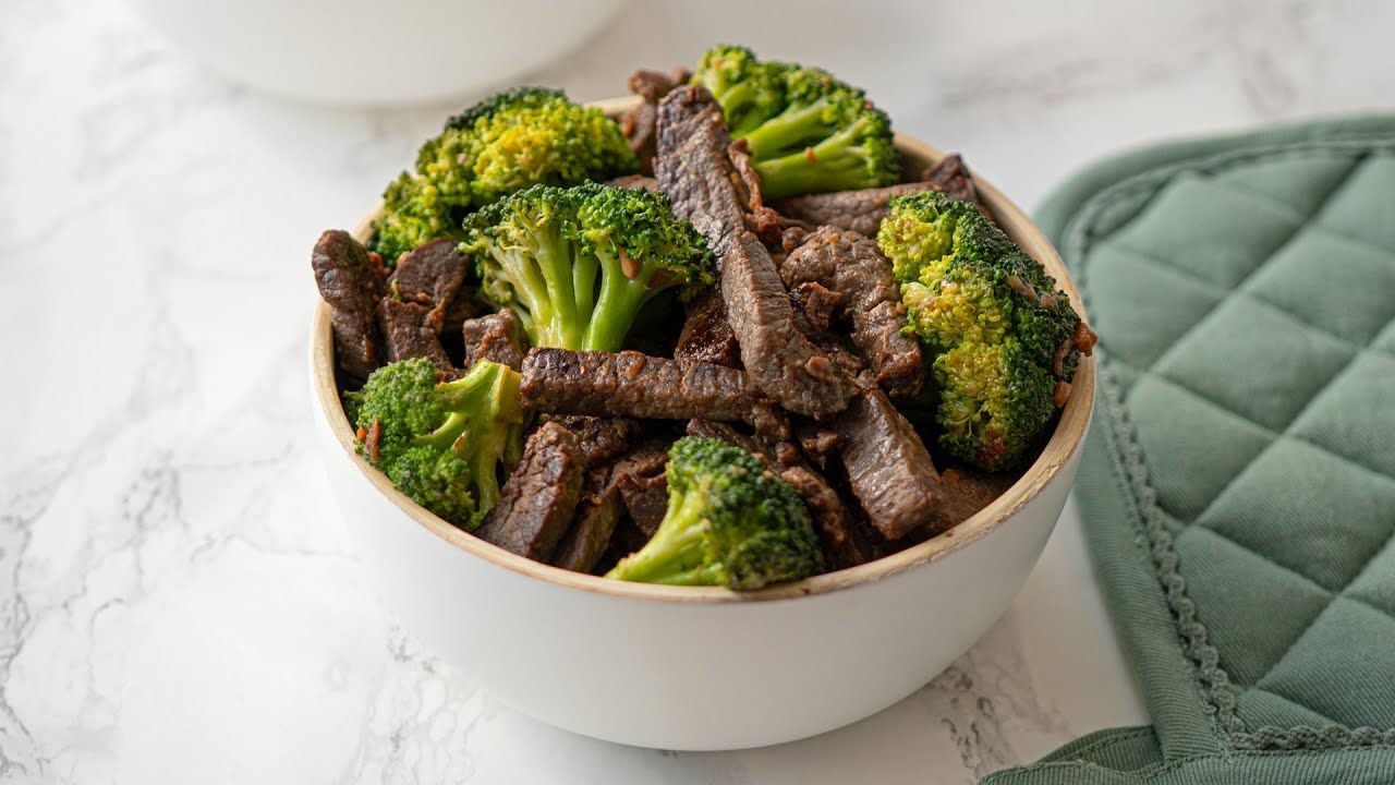 Keto Beef and Broccoli Recipe