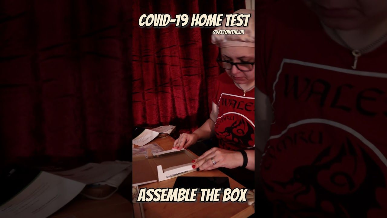 HOW TO ASSEMBLE NHS COVID TEST BOX assembly tutorial