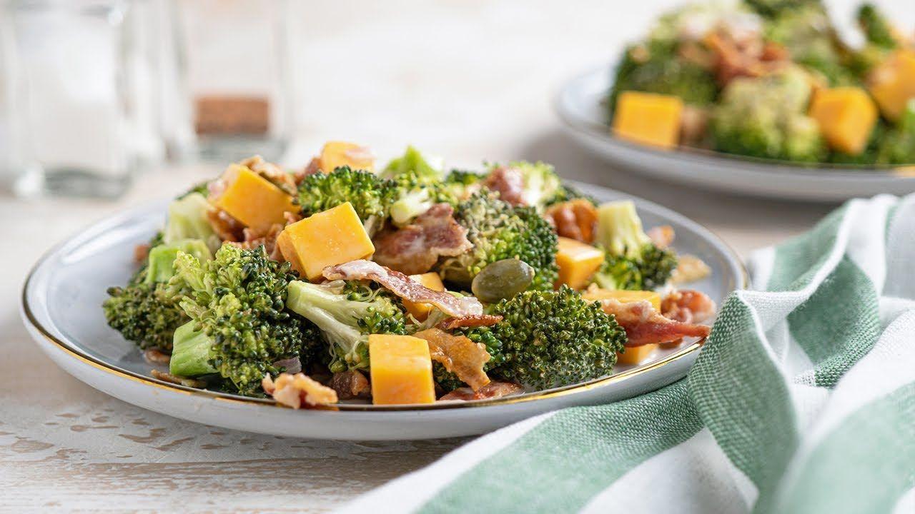 Keto Recipe – Tangy Broccoli Salad