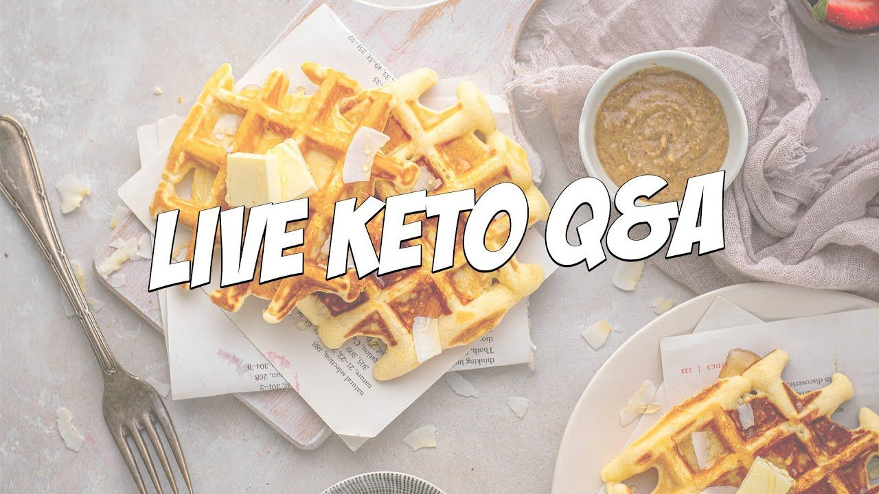 Live Keto Q&A | How to succeed with a healthy diet for the long term