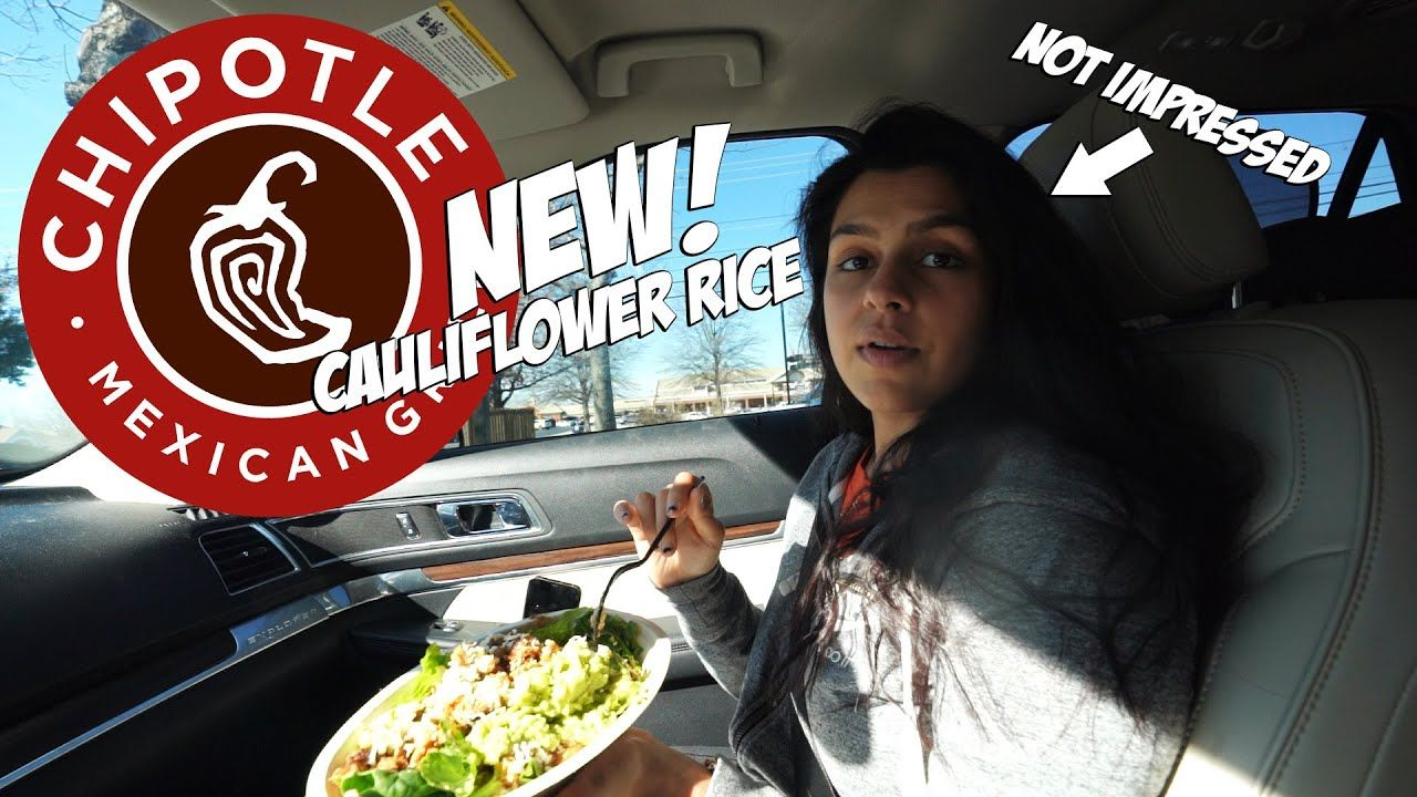 New Chipotle Cauliflower Rice Review! Is It The BEST Keto Option?