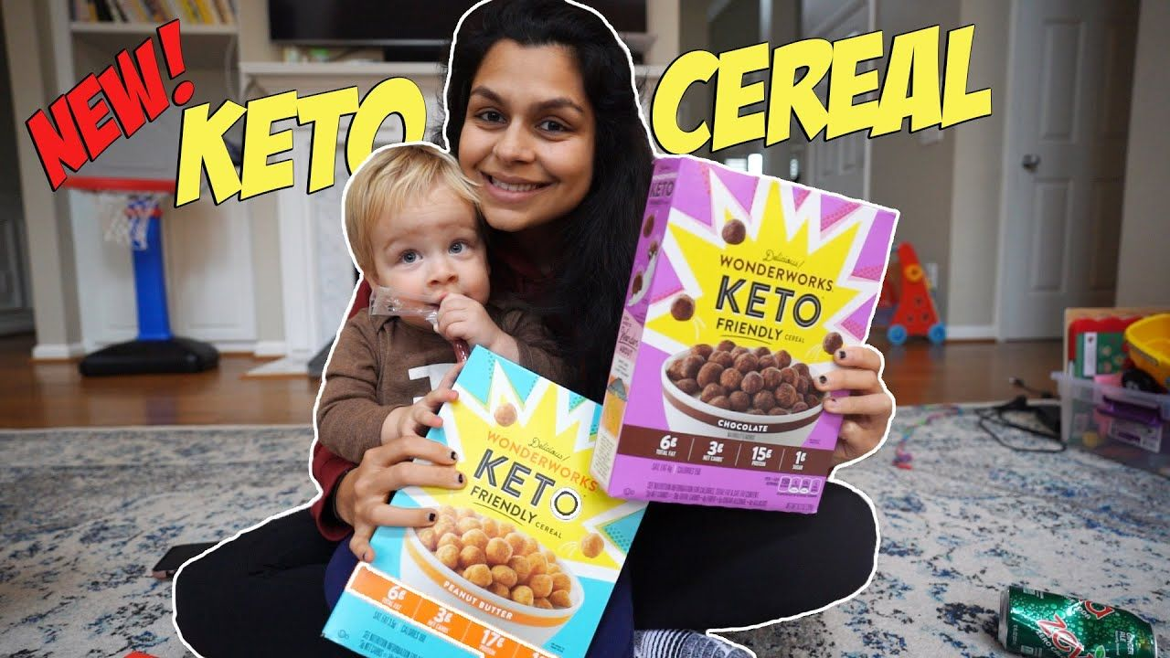 Trying NEW Keto Cereal from Walmart | Full Day of Eating Keto
