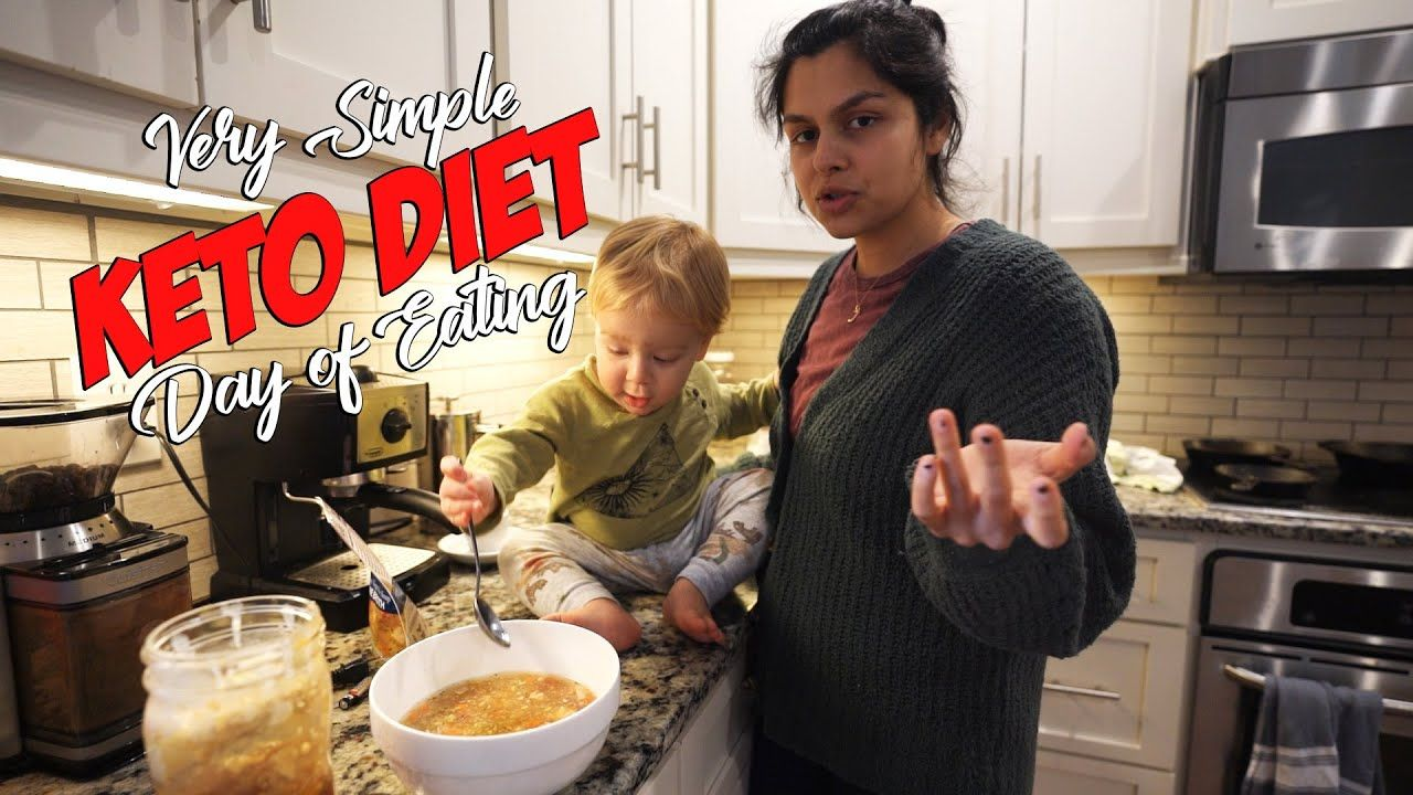 Ultra Simple KETO DIET Day of Eating | You Can Do It!