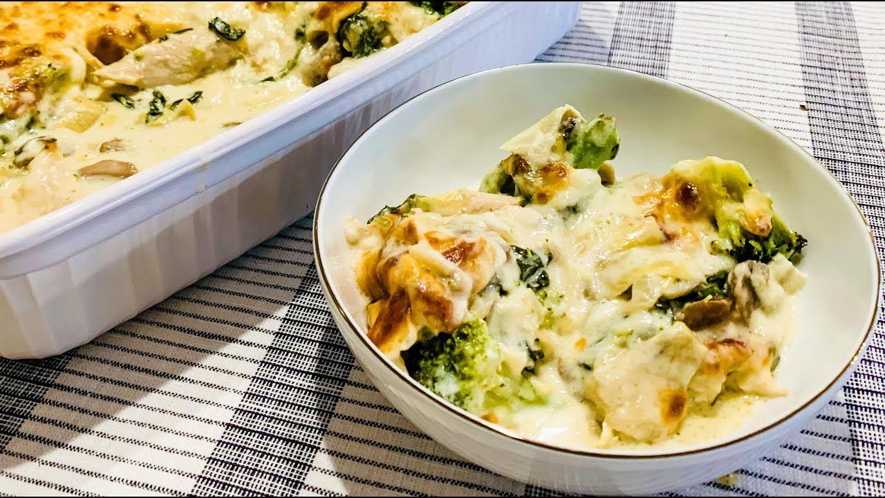 Spinach and Artichoke Bake (Easy Keto Casserole Recipe) in 30 Seconds