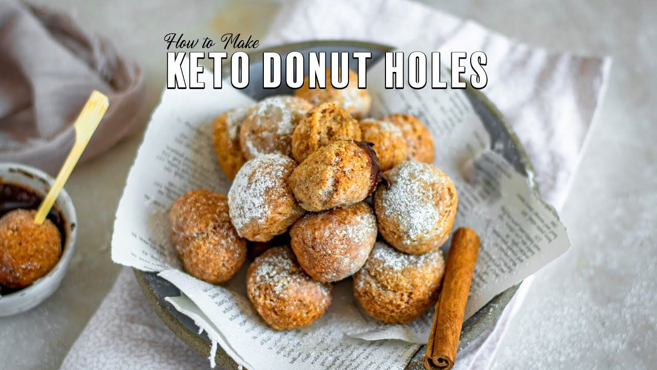 The Best Keto Donuts (Deep Fried)