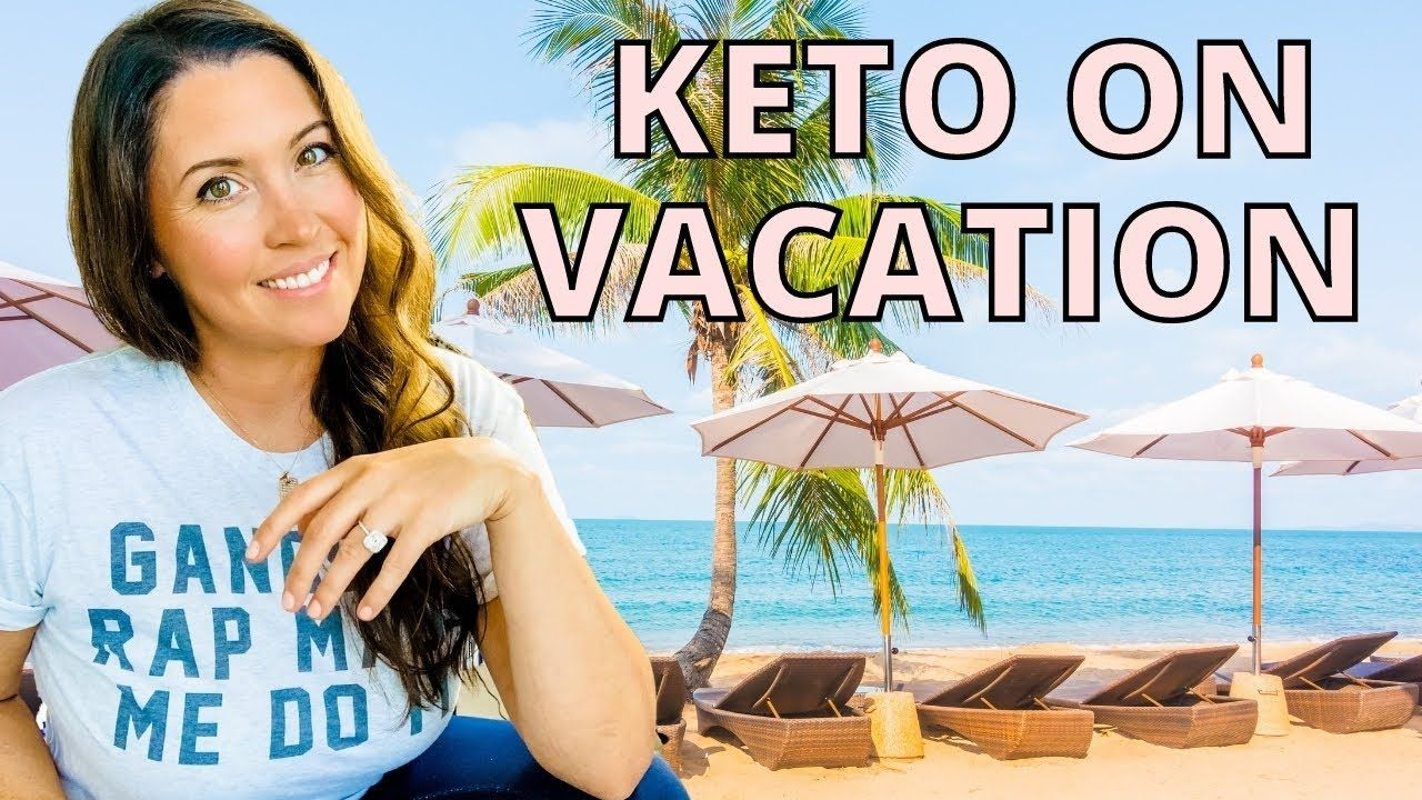 How to EASILY stay keto on vacation! 🌴 (I just did it, here's how!)