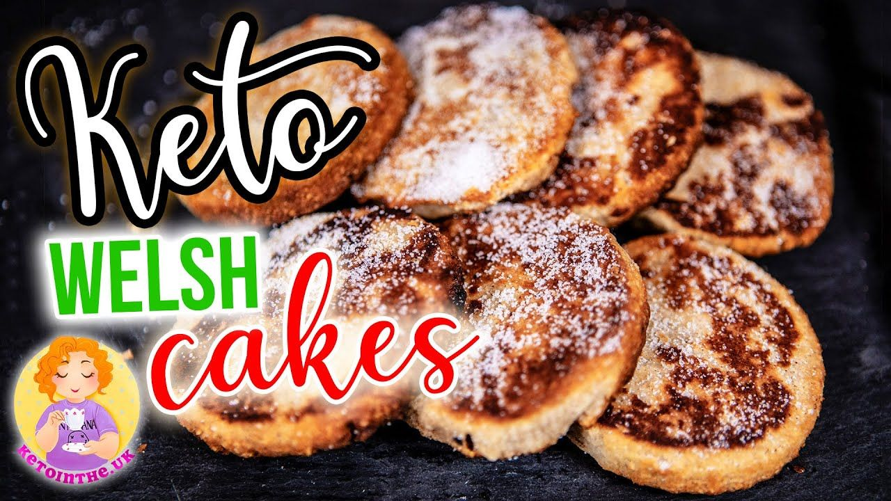 KETO Welsh Cakes Recipe 🏵️ St David's Day Low Carb Dessert made in Wales