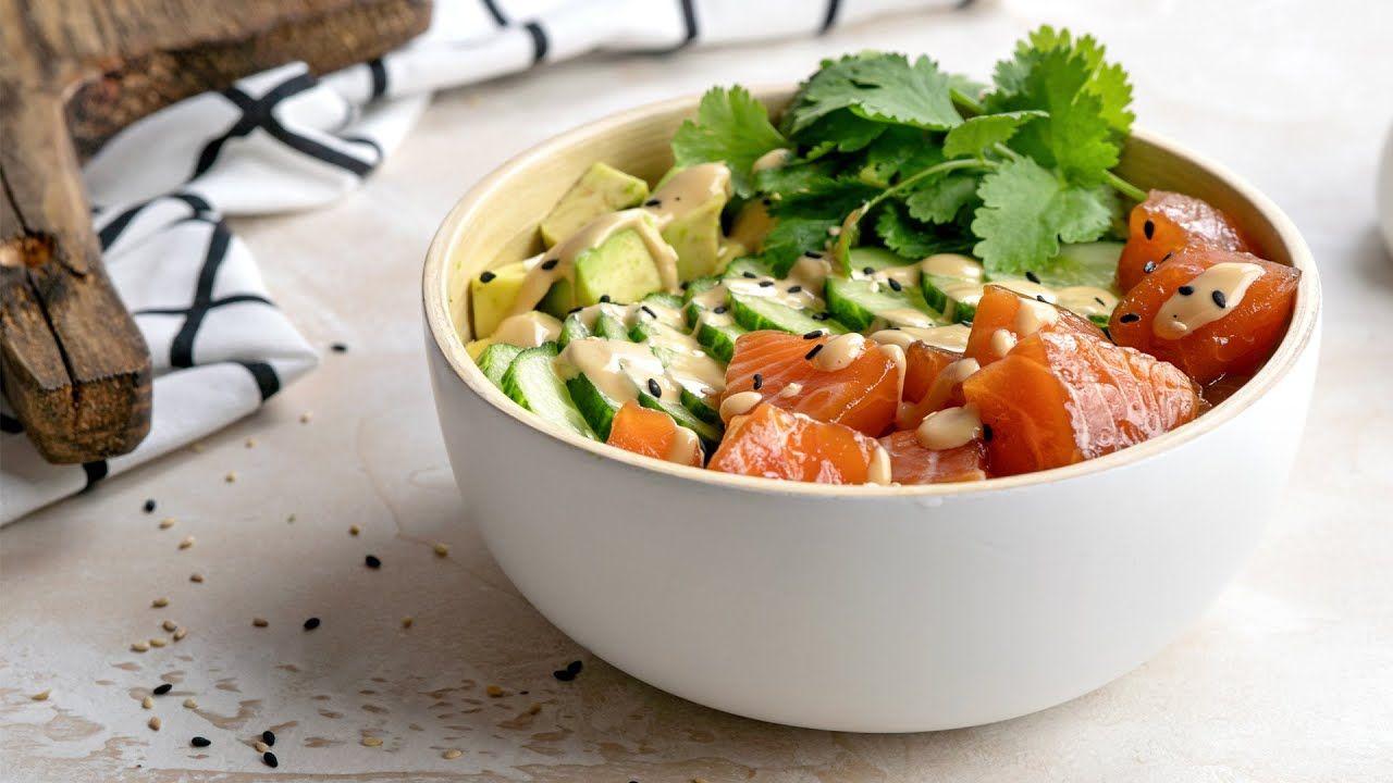 Keto Poke Bowls [Very Easy, Healthy, & Delicious]