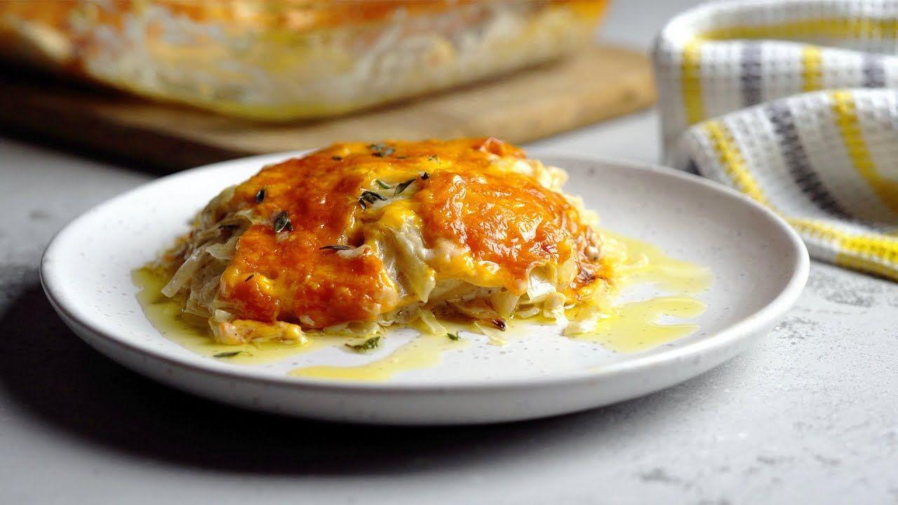 Keto Recipe – Creamy Cabbage Casserole [Vegetarian-Friendly]