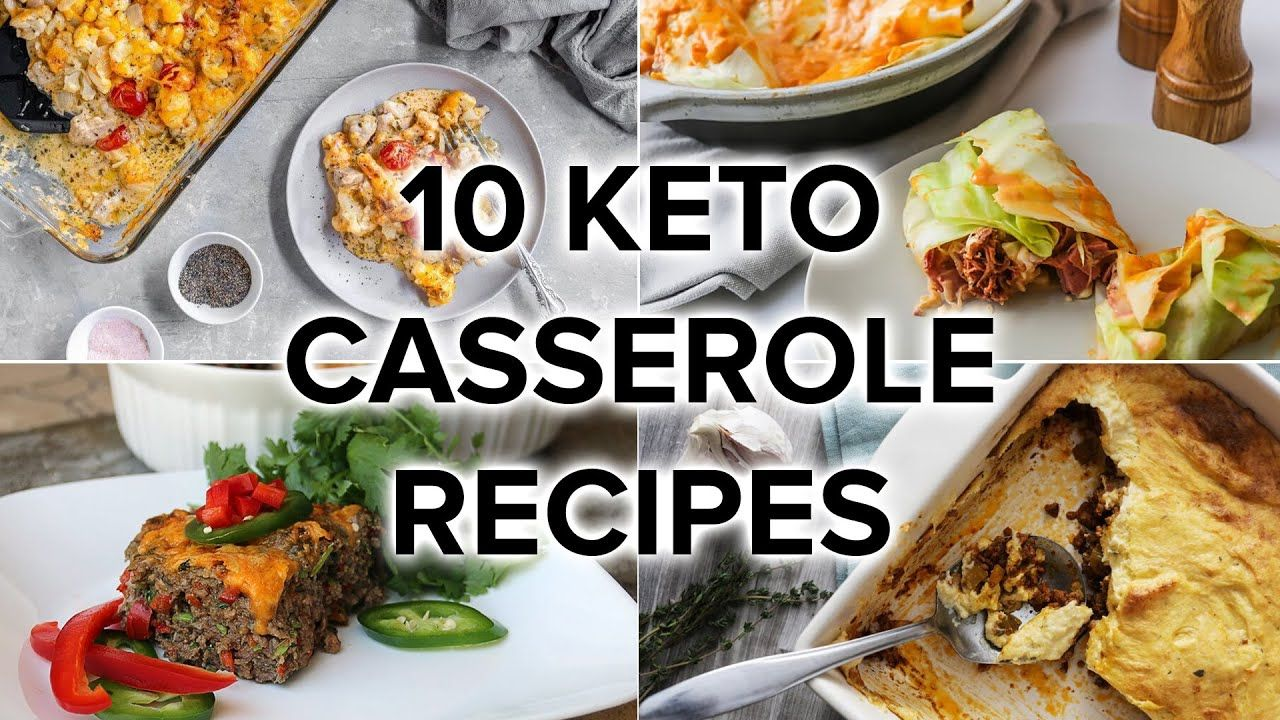 10 Keto Casserole Recipes Perfect for Weeknights and Meal Prep