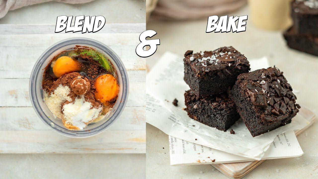 EASY Blend & Bake Avocado Brownies
