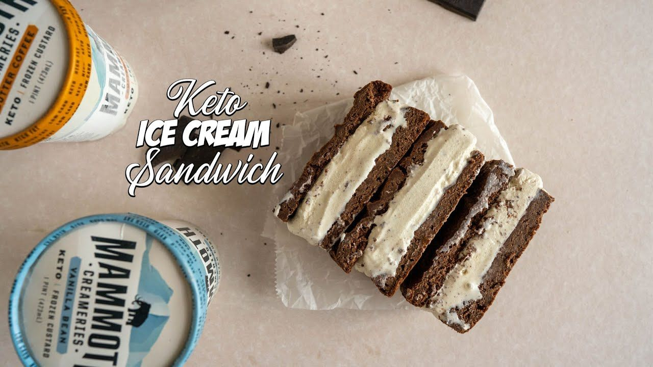 How to Make Keto ICE CREAM Sandwiches