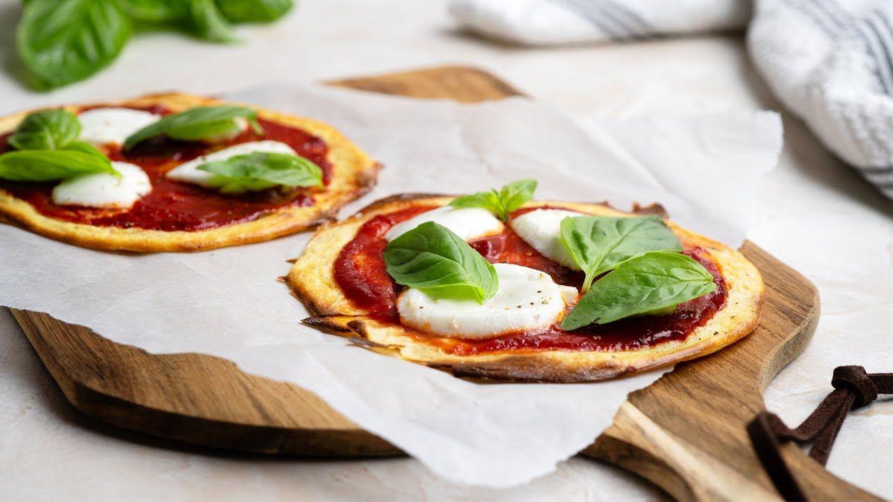 Keto Tortilla Pizza Recipe [with Homemade Tortillas]