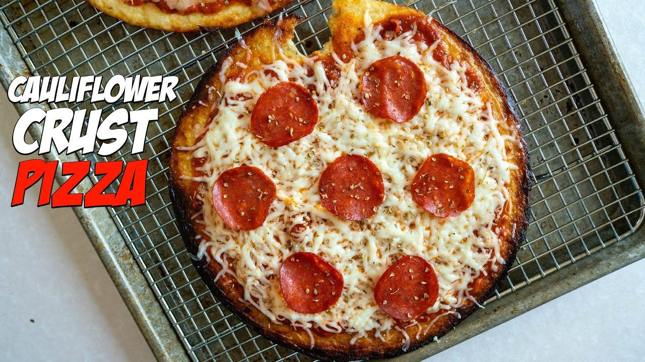 Low Carb Cauliflower Crust Pizza Recipe | New Crust Option!