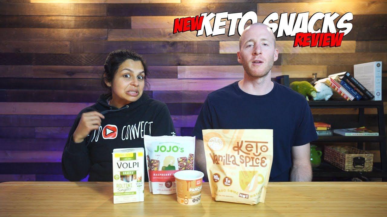NEW Keto Snacks Taste Test & Review | Tortillas, Fish Chips, Bread, Yogurt