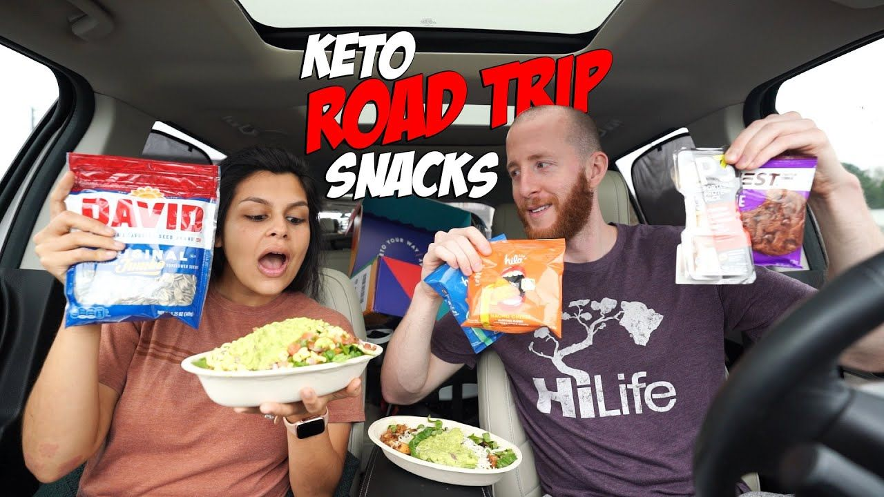 The Keto Road Trip Snack Guide | Gas Station Food Haul???