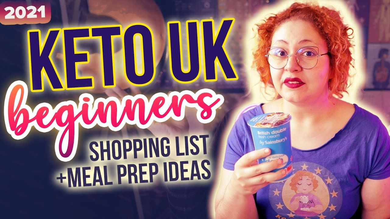 KETO UK Beginners Grocery Shopping List 2021 🛒 Haul Low Carb Friendly + Meal Prep Ideas + Snacks