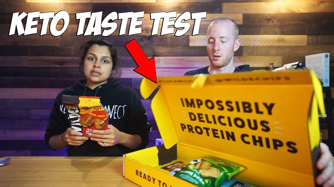 Keto Taste Test | Protein Chips, Ice Cream Cones, Chicken Chips?