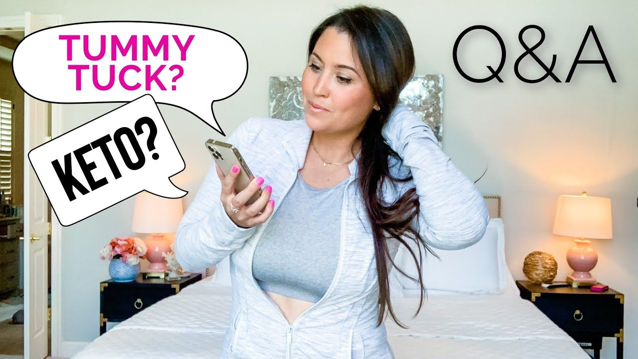 Q&A | Keto / Fasting + Tummy Tuck Swelling, Scar & Numbness