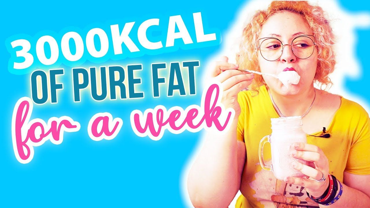 3000 calories of FAT for a WEEK – Fat Fast Creamstravaganza Calories on Keto experiment