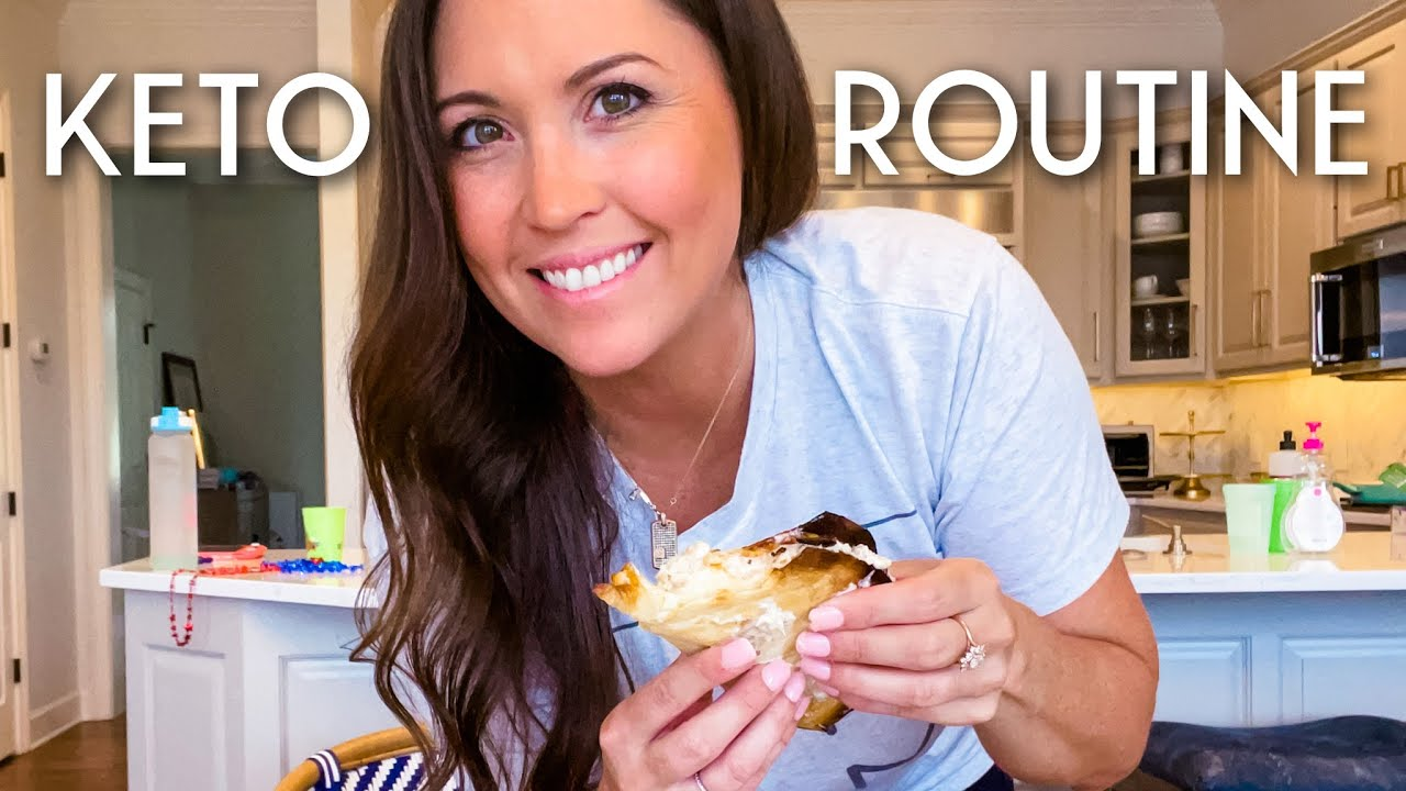 WHAT I EAT IN A DAY KETO! (on the weekend) | VLOG