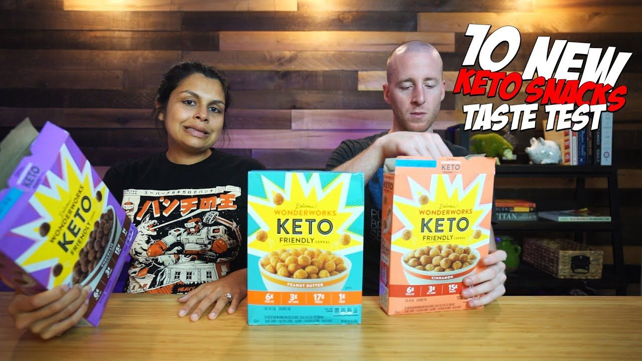 10 NEW Keto Snacks – Taste Test and Review!