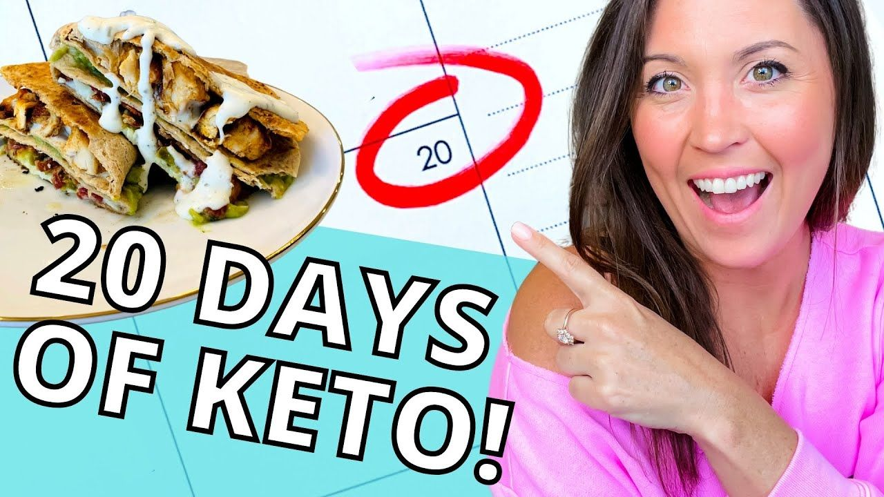 20 FULL DAYS OF KETO – Easy Fat Burning Meal Plan Examples!