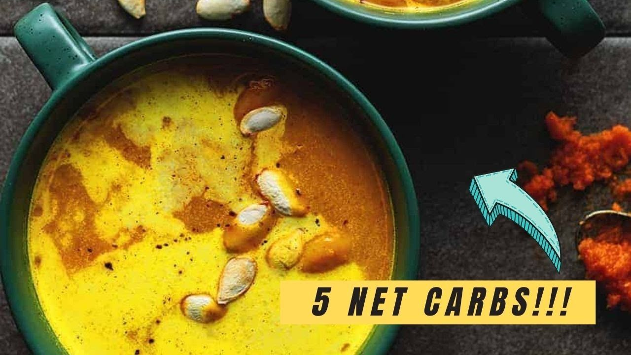 Keto Curry Pumpkin Soup
